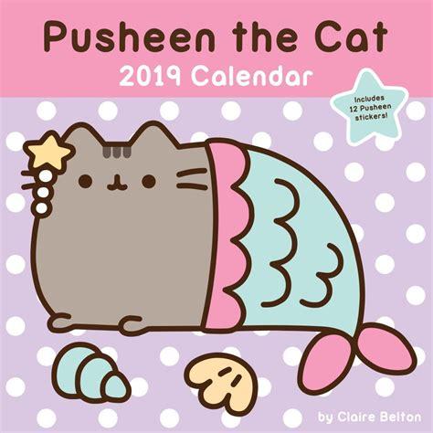 pusheen wall calendar