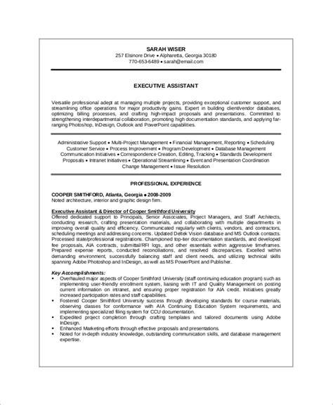 Sle Executive Resume by Senior Executive Resume Teacheng Us
