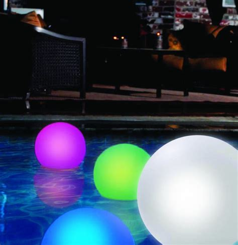changing pool light 4 and funky floating pool lights infinigeek