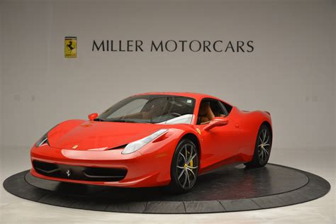 458 Italia 2014 Price by Used 2014 458 Italia Greenwich Ct