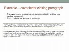 Bryant University Cover Letter Best Closing Statement Cover Letter Closing Statement To Cover Letter 5 Cover Letter Closing Statement Examples Case