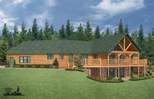 Images Log Cabin Style House Plans by Ranch Style Log Homes Log Cabin Ranch Style Home