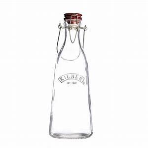 Bouteille Verre 1l : kilner bouteille de lait en verre avec clip 1 l les secrets du chef ~ Teatrodelosmanantiales.com Idées de Décoration