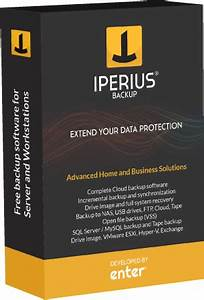 Backup software Free for Windows Server - Iperius Backup