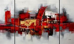 Tableau Moderne Salon : tableau peinture moderne contemporain ~ Teatrodelosmanantiales.com Idées de Décoration