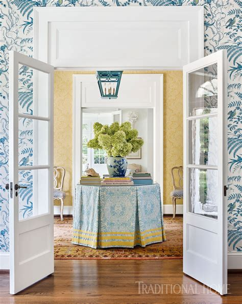 Nashville Home Pretty Color And Pattern nashville home with pretty color and pattern traditional