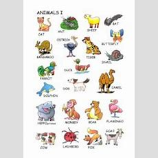 Animals Vocabulary  Esl Worksheet By Joanserra