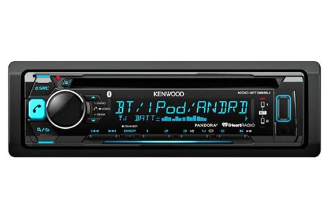 kenwood kdc bt365u 1 din car stereo in dash receiver w built in bluetooth ebay
