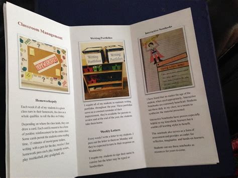create  personalized brochure  leave
