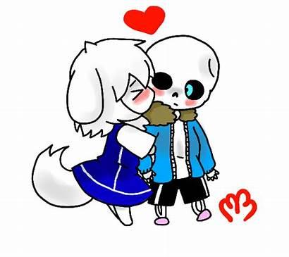 Sans Chibi Dreemurr Ari Kiss Deviantart