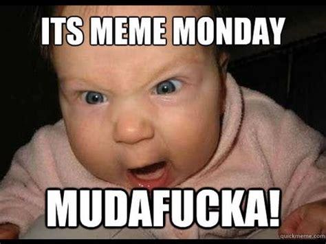 Funny Baby Face Meme - monday memes buzzpls com