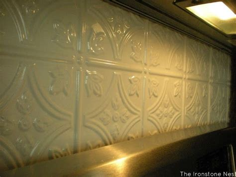 plastic kitchen backsplash pin by mia steele mia dolce on tin tiles pinterest