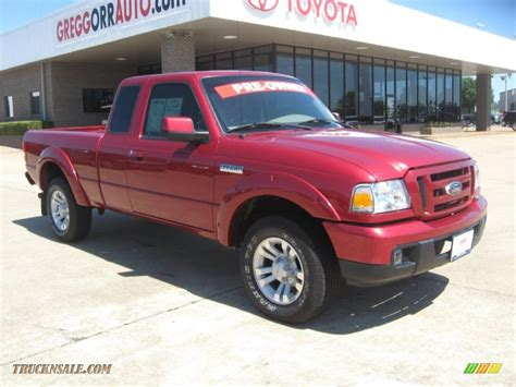 ford ranger xlt sport supercab 2007 ford ranger sport supercab in redfire metallic photo 5 a22779 truck n sale