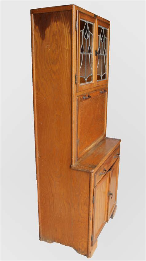 bargain johns antiques oak kitchen cabinet maid saver