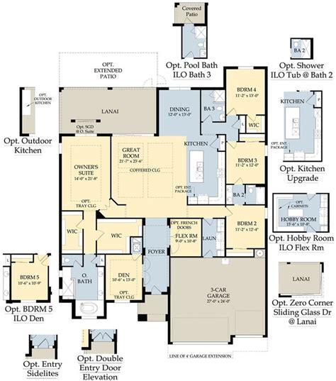 pulte homes plan menu floorplans pinterest home