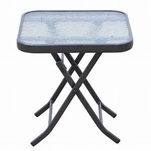 Table D Extérieur : table d 39 appoint pour l 39 exterieur ~ Teatrodelosmanantiales.com Idées de Décoration