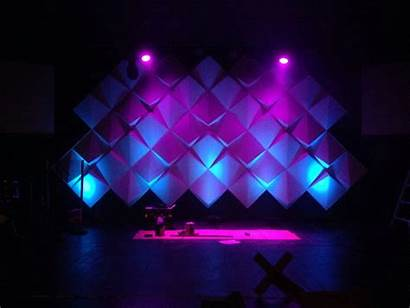 Stage Church Lighting Backdrops Lights Concert Christmas