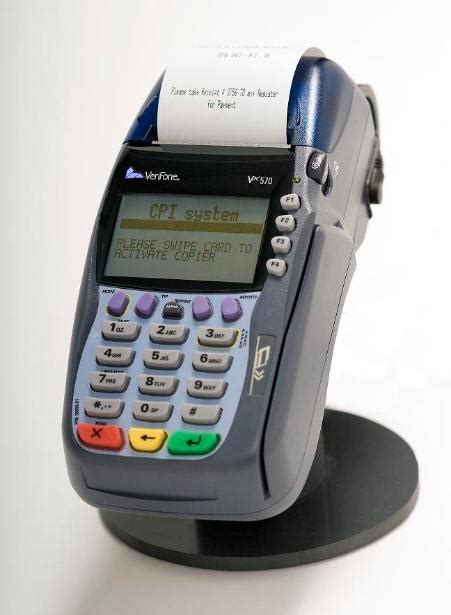 Ideal Image Pay Bill Cpi System Credit Card Terminal For Copy Machines Copiers