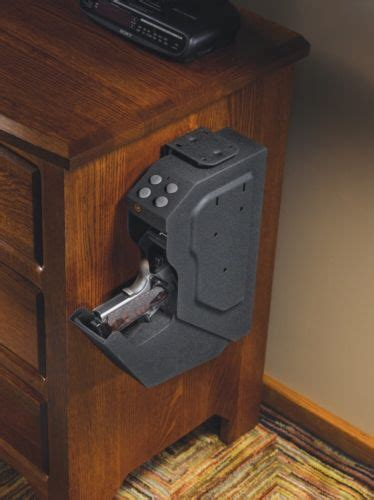 Nightstand Safe Biometric by What S The Best Location For A Gun Safe