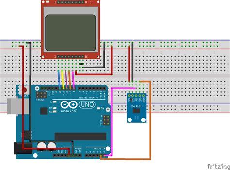diy light lux meter  bh sensor arduino