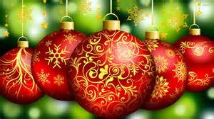red christmas ornaments wallpaper holiday wallpapers 25708