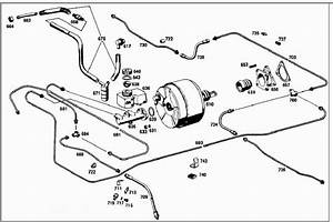 Brake Line Diagram 220seb