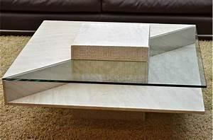 Tables Basses Haut De Gamme : table basse en verre design haut de gamme table de lit ~ Dode.kayakingforconservation.com Idées de Décoration