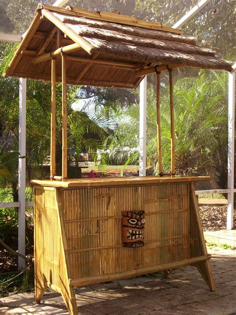 Tiki Hut Bar Kits by Bamboo L Photo Bamboo Hut Kit