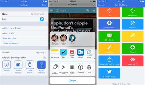 how to get a from iphone to computer how to use workflow for ios when you don t where to 2458