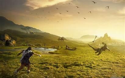 Prehistoric Dinosaur Wallpapers Playing Desktop History