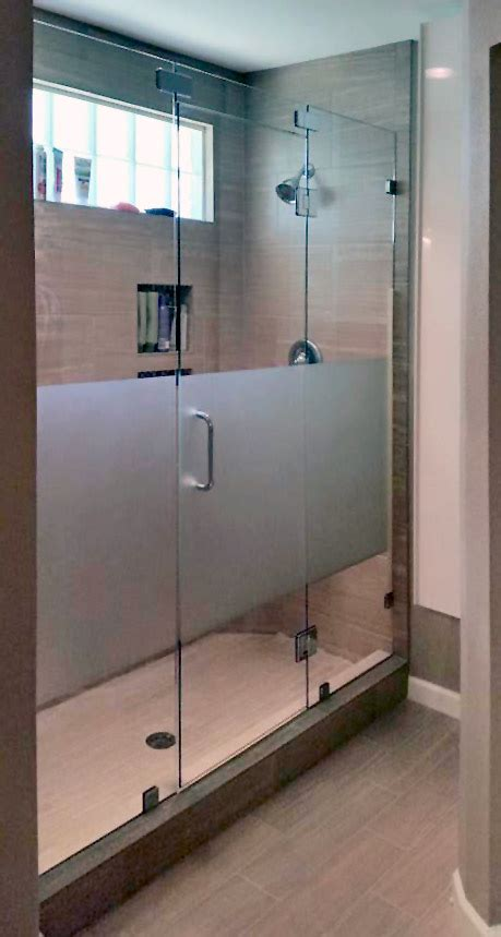 frosted shower doors glass shower enclosures and doors gallery shower doors