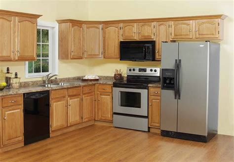 wooden cabinets kitchen ideas kitchens with wood floors and cabinets railing 1156