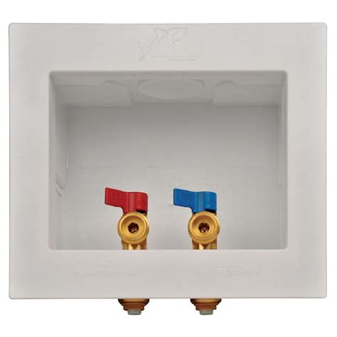 kitchen faucet plate sharkbite 1 2 in washing machine outlet box 24763 the