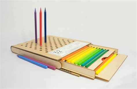 poubelle de bureau design packaging coloroid boite à crayons par jialu li