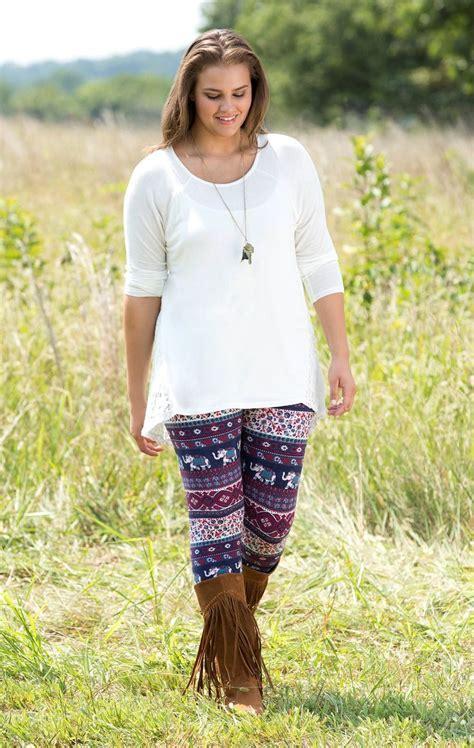 Most Stylish Plus Size Leggings Fashiongum Com