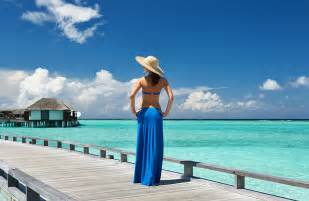 Maldives Beaches Woman