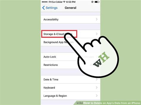 to delete data on iphone how to delete an app s data from an iphone 12 steps