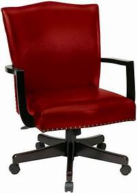 red desk chair Traditional Crimson Red Desk Chair - BP-MGTC-EC19