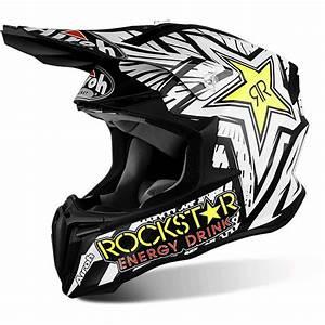 Equipement Moto Cross Destockage : casque cross airoh twist rockstar fx motors ~ Dailycaller-alerts.com Idées de Décoration