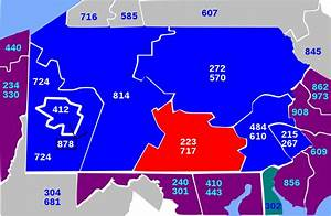 Area, Codes, 717, And, 223