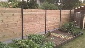 Cloture Jardin Bois : construction cloture bois cloture bois sur mesure en kit ~ Premium-room.com Idées de Décoration
