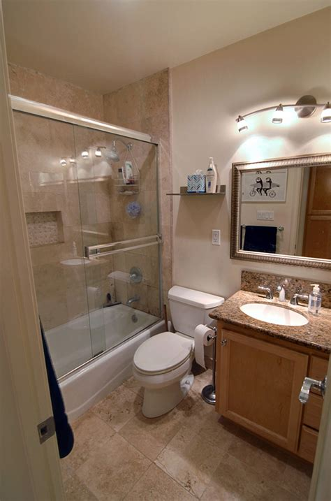 size wise small bathroom big makeover los angeles times