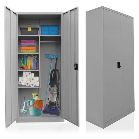 cleaning supplies storage cabinet cleaning supplies cabinet steel broom closet linen