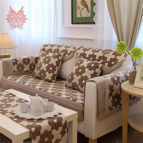 canapé patchwork aliexpress com buy pastoral brief floral jacquard sofa