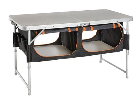 bi fold table  pantry kiwi camping nz