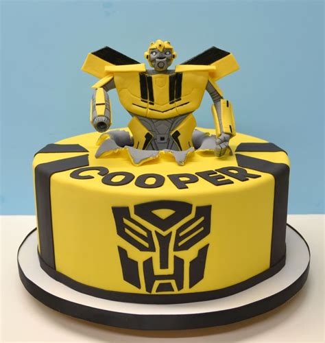 transformer cake ideas transformers bumblebee jazz cake ideas and designs