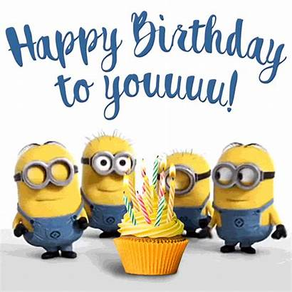 Birthday Happy Funny Minions Animated Gifs Singing
