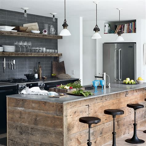Industrialstyle Interiors  Ideal Home. Red Kitchen Gallery. Kitchen Window Treatments With Blinds. B And Q Kitchen Storage Jars. Kitchen Bar Job Application. Kitchen Elle Decoration. Small Kitchen Home Depot. Brown Eyed Fox Kitchen. Industrial Kitchen Door Handles
