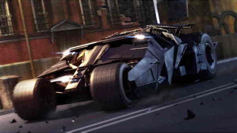 The Batmobile From Batman Begins News