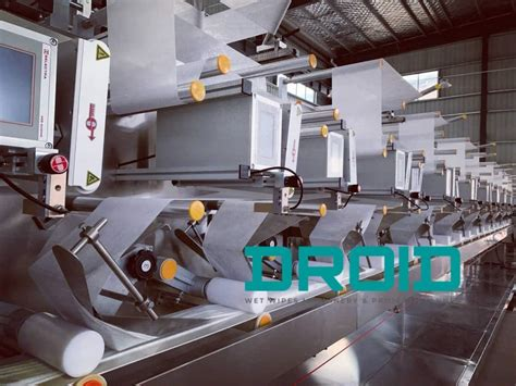 Leading Wet Wipes Machinery Manufacturer   Droidwipes